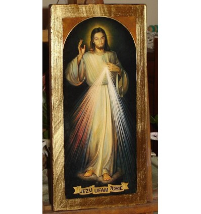 The Divine Mercy Icon. Jesus I Trust in You