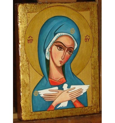 Pneumatophora - Icon of Our Lady carrying the Holy Spirit