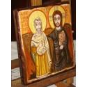 Ikona Przyjaźni, Chrystus i Abba Menas, Chrystus z Przyjacielem