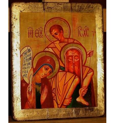 Święta Rodzina - Sacra Famiglia Ikona Kiko Arguello