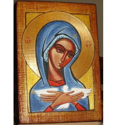 Pneumatophora - The Icon of Our Lady carrying the Holy Spirit