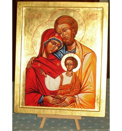 The Holy Family, Icon of the Equipes Notre-Dame movement - Belart Shop with Icons