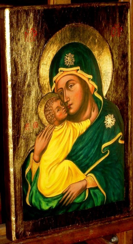 Virgin of Tenderness - Madonna Eleusa - Shop with Icons